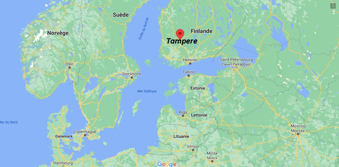 Où se situe Tampere