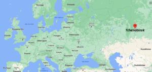 Où se situe Tcheliabinsk