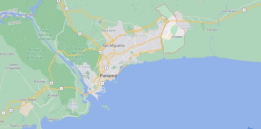 Où se situe Tocumen