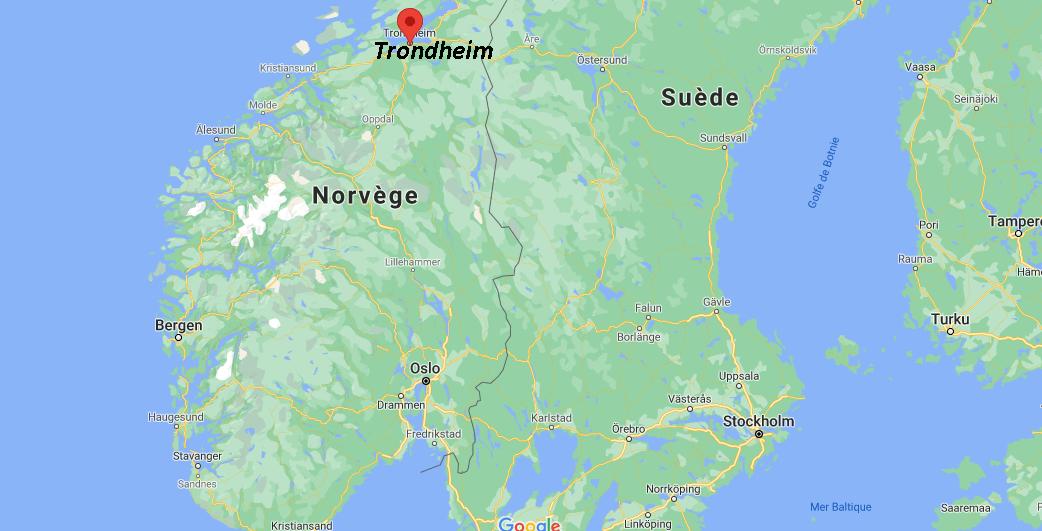 Où se situe Trondheim