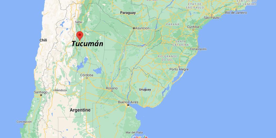 Où se situe Tucumán