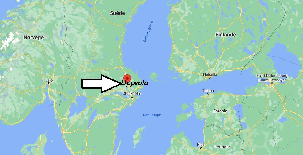 Où se situe Uppsala
