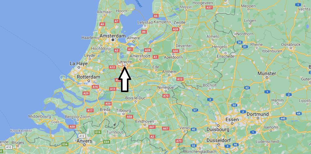 Où se situe Utrecht