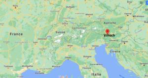 Où se situe Villach