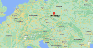 Où se situe Wrocław