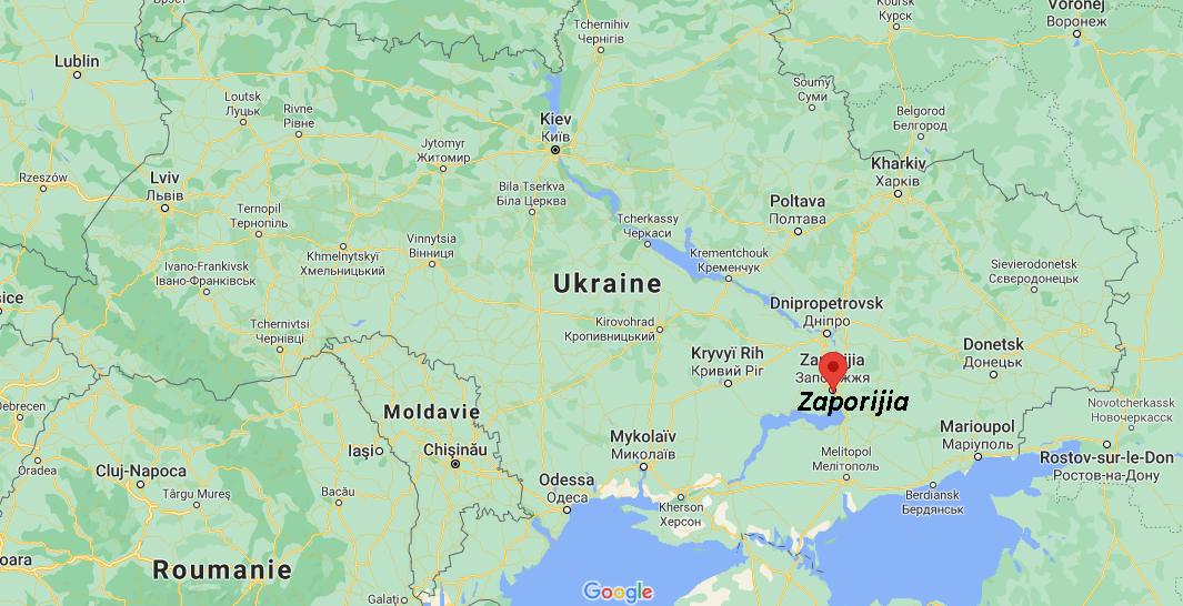 Où se situe Zaporijia