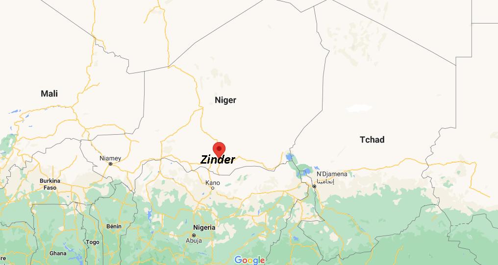 Où se situe Zinder