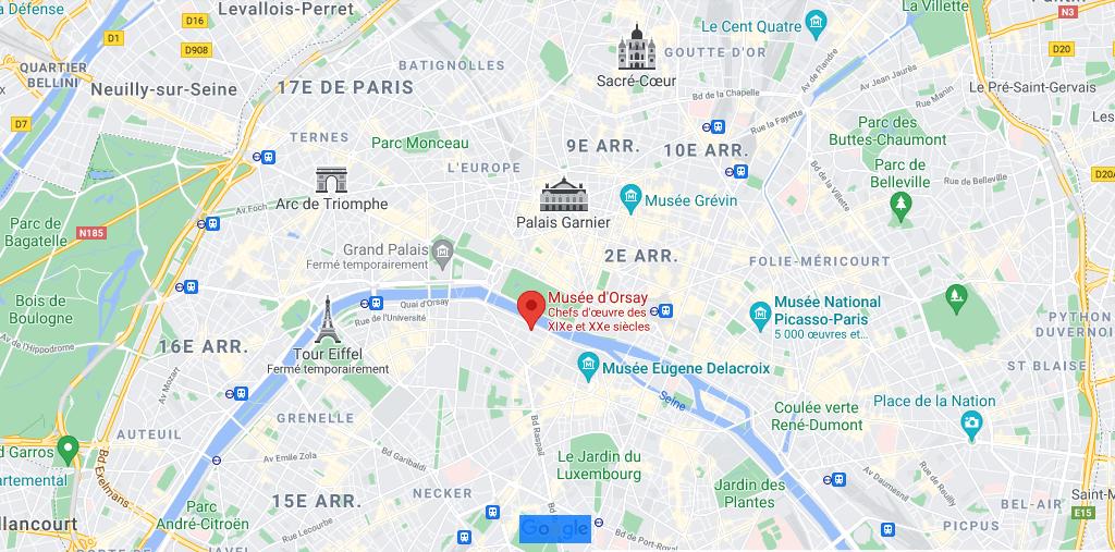 Où se situe le Musée d-Orsay