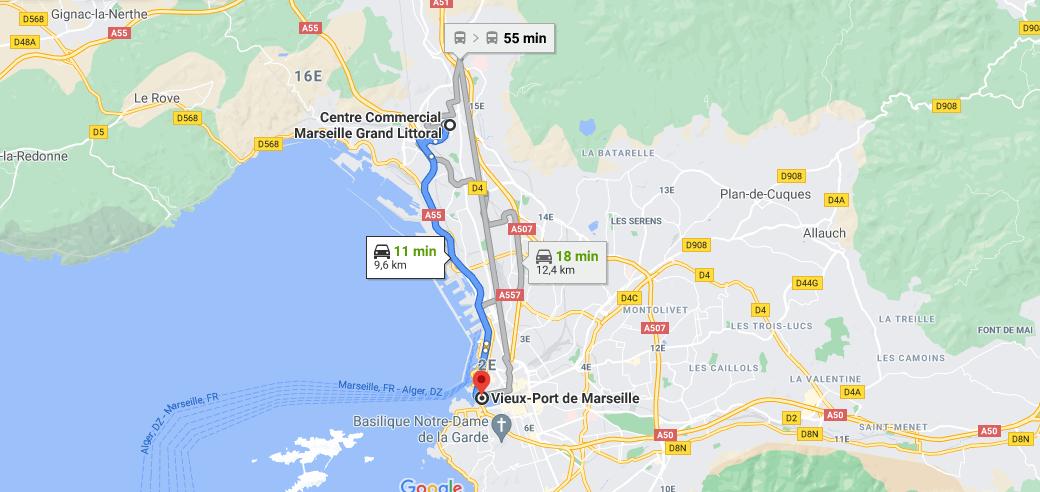 Où se situe le Vieux Port