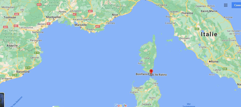 Où se situe les îles Lavezzi