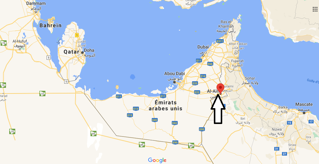 Où se trouve Al-Aïn