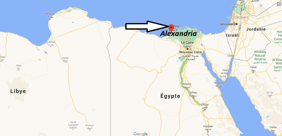 Où se trouve Alexandria