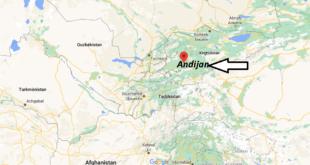 Où se trouve Andijan
