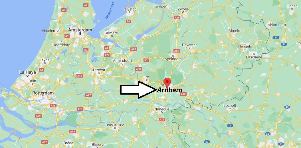 Où se trouve Arnhem