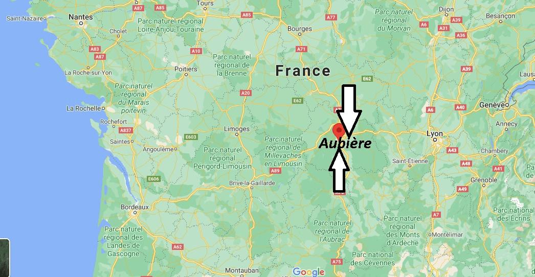 Où se trouve Aubière