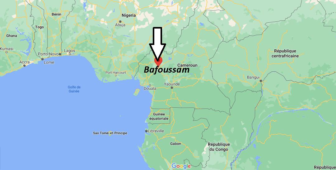 Où se trouve Bafoussam