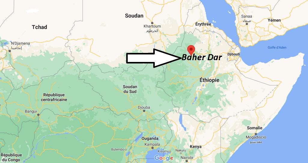 Où se trouve Baher Dar