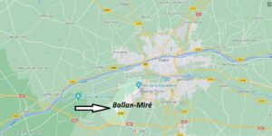 Où se trouve Ballan-Miré