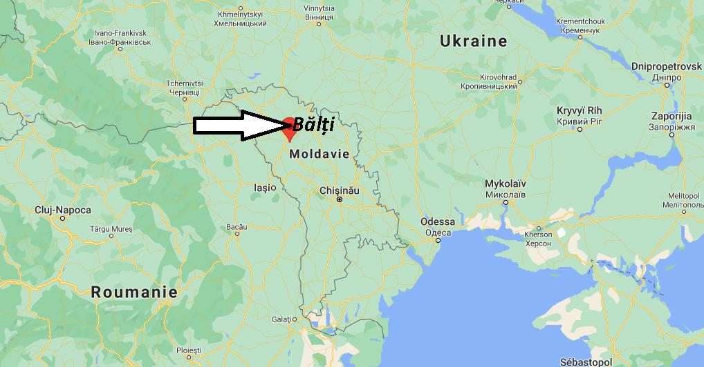 Où se trouve Bălți