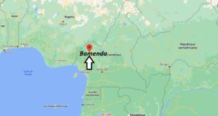 Où se trouve Bamenda