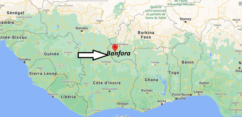 Où se trouve Banfora