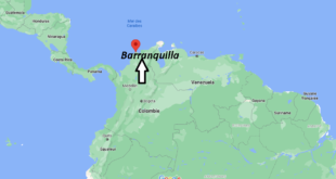 Où se trouve Barranquilla