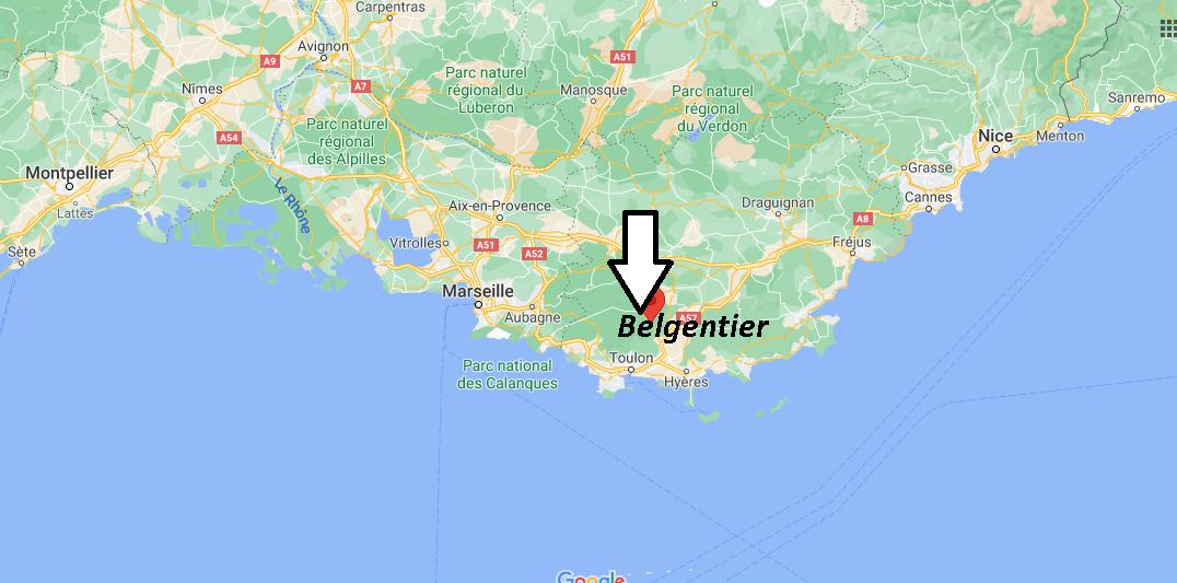Où se trouve Belgentier