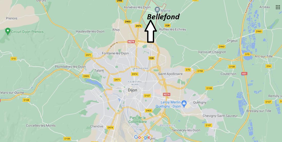 Où se trouve Bellefond