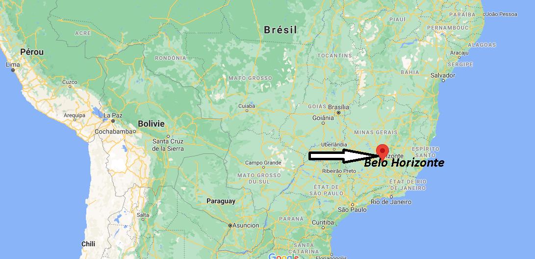 Où se trouve Belo Horizonte