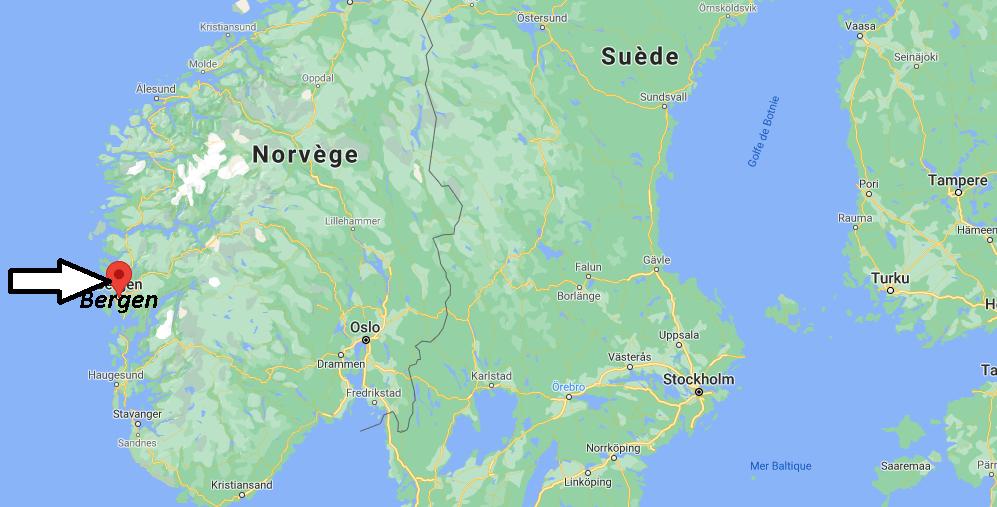 Où se trouve Bergen