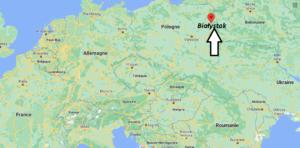 Où se trouve Białystok