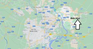 Où se trouve Biên Hòa