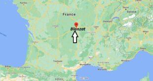 Où se trouve Blanzat