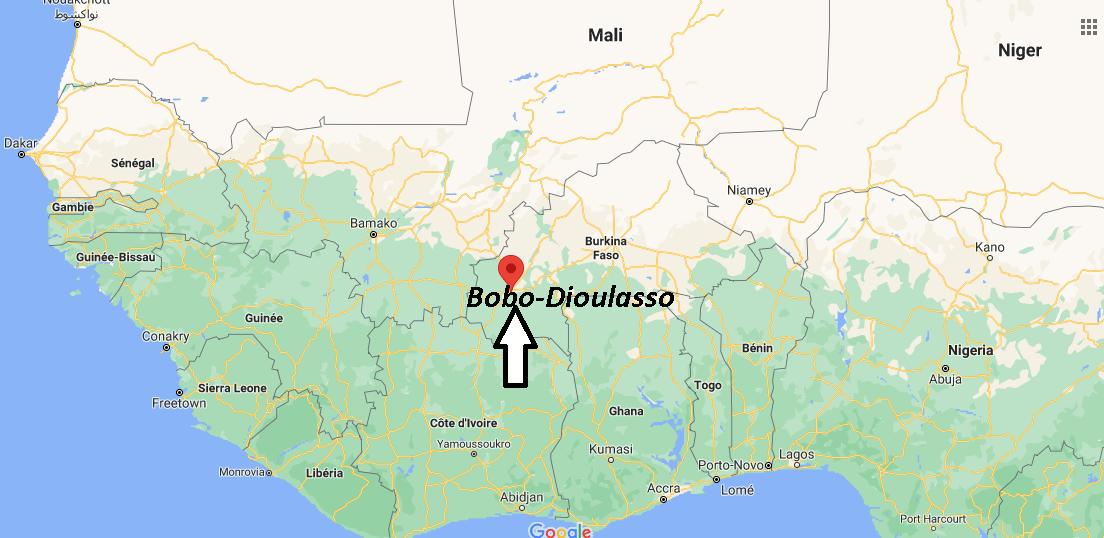 Où se trouve Bobo-Dioulasso