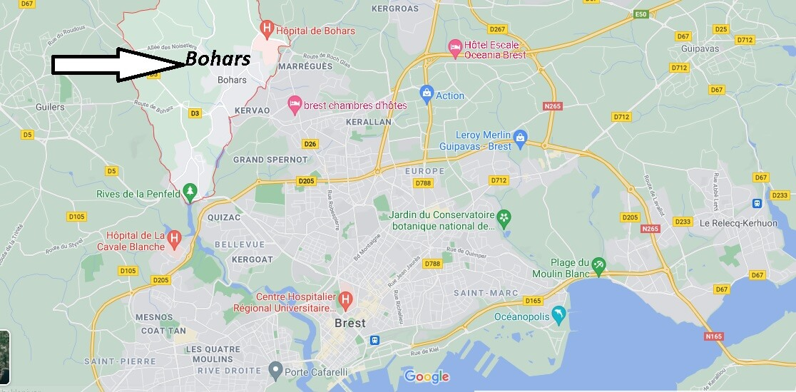 Où se trouve Bohars