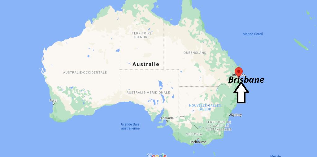 Où se trouve Brisbane