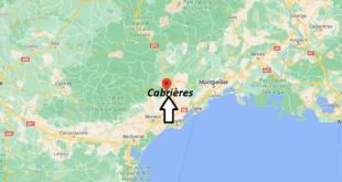 Où se trouve Cabrières