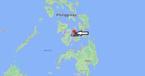 Où se trouve Cebu