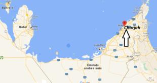 Où se trouve Charjah