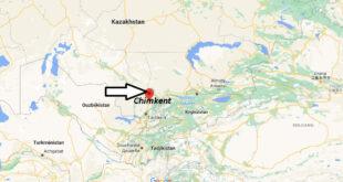 Où se trouve Chimkent