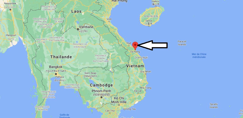 Où se trouve Da Nang