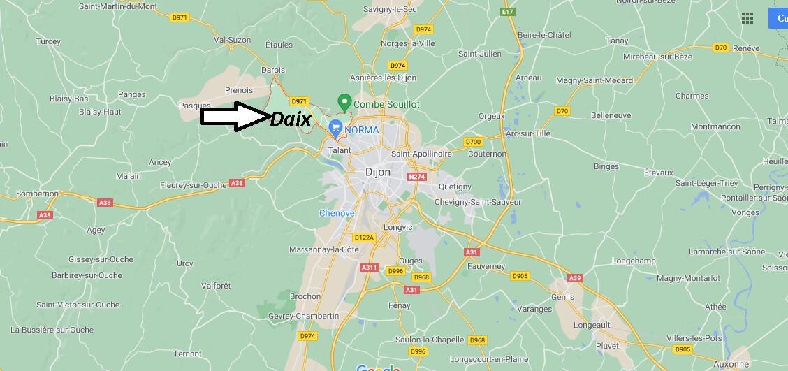 Où se trouve Daix
