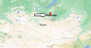 Où se trouve Darhan