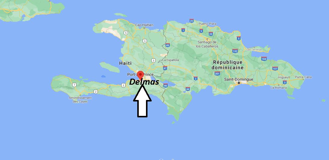 Où se trouve Delmas