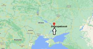 Où se trouve Dnipropetrovsk