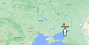 Où se trouve Donetsk