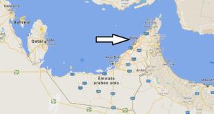 Où se trouve Dubaï