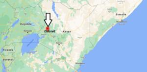 Où se trouve Eldoret