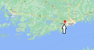 Où se trouve Espoo