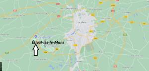 Où se trouve Étival-lès-le-Mans